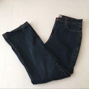 "Levi's ""AT WAIST"" Bootcut Size 14 Short Misses"